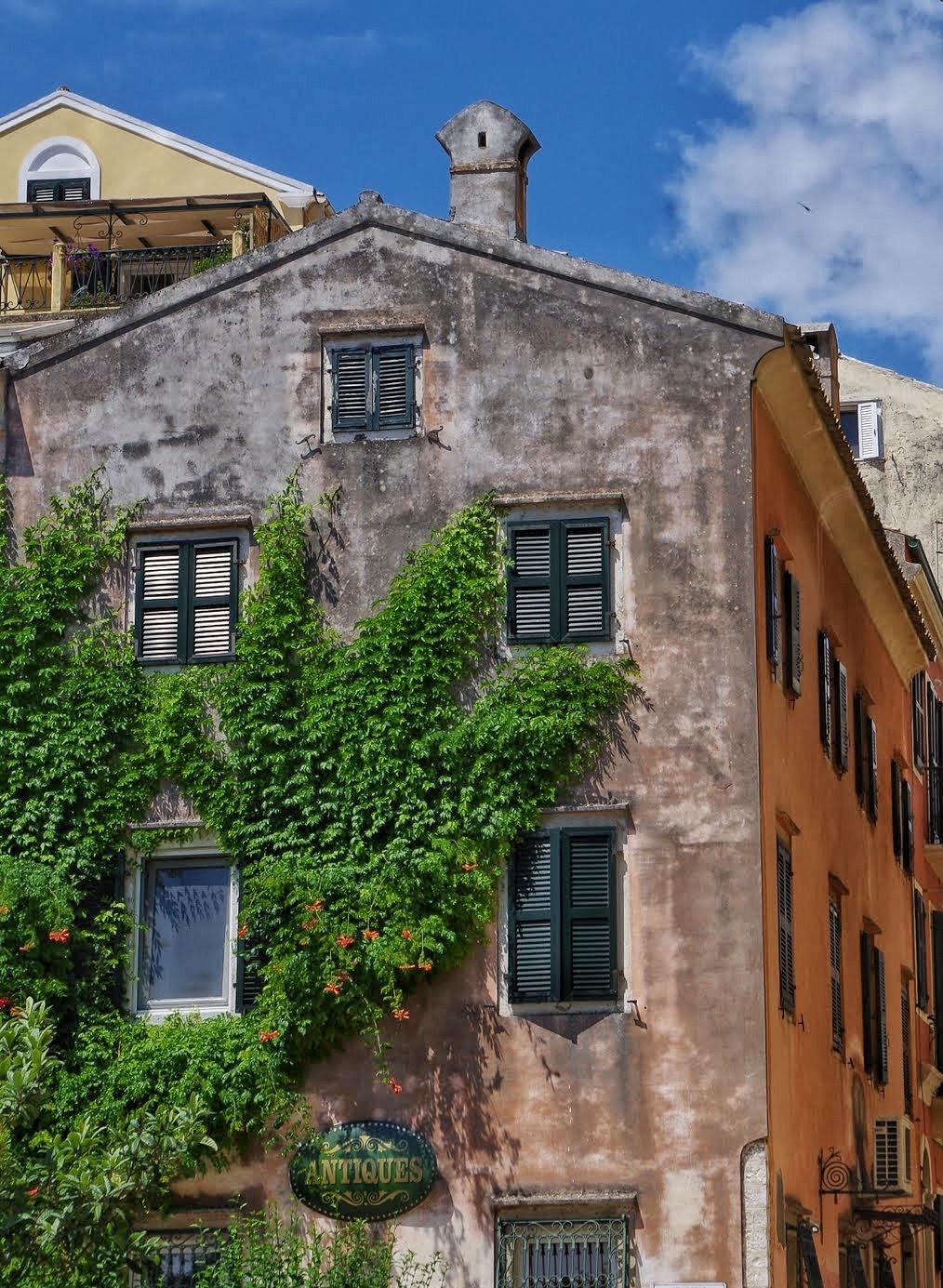 Impressionen aus der Altstadt von Korfu