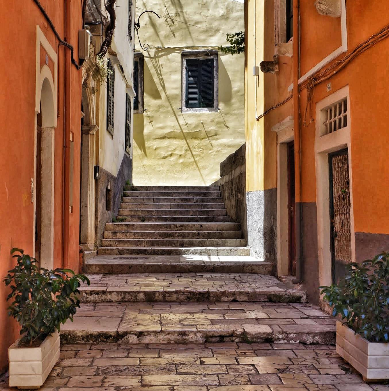 Altstadtgasse Korfu