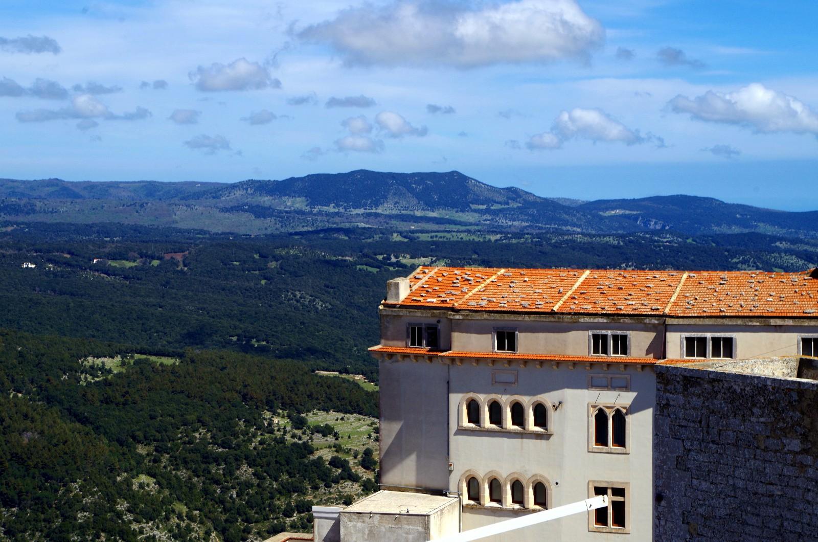 Ausblick von Monte Sant'Angelo
