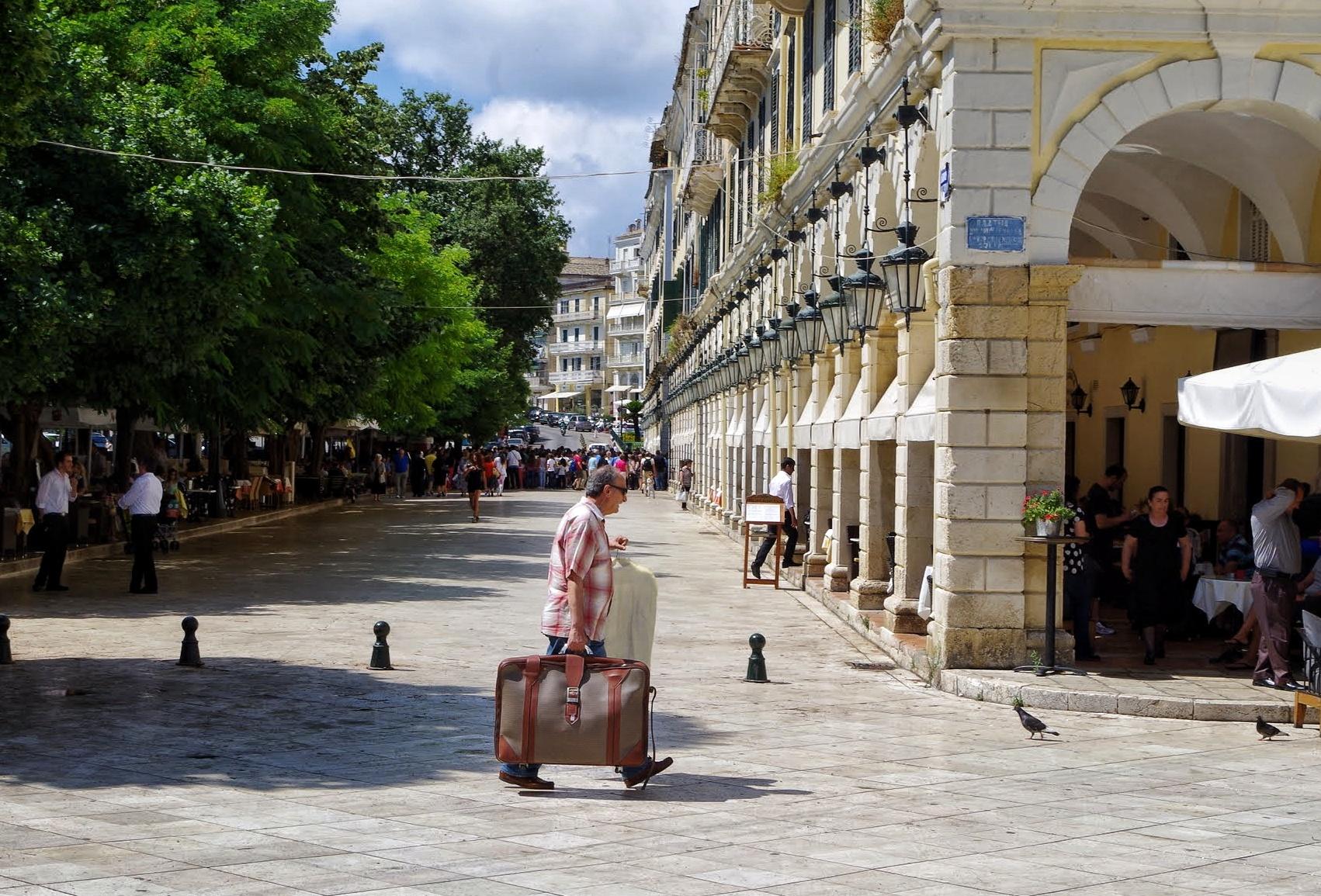Esplanada Korfu Stadt