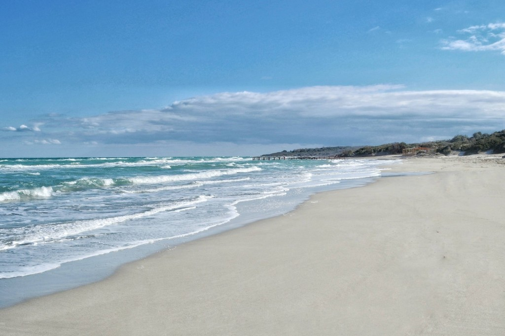 Alimini Strand bei Otranto