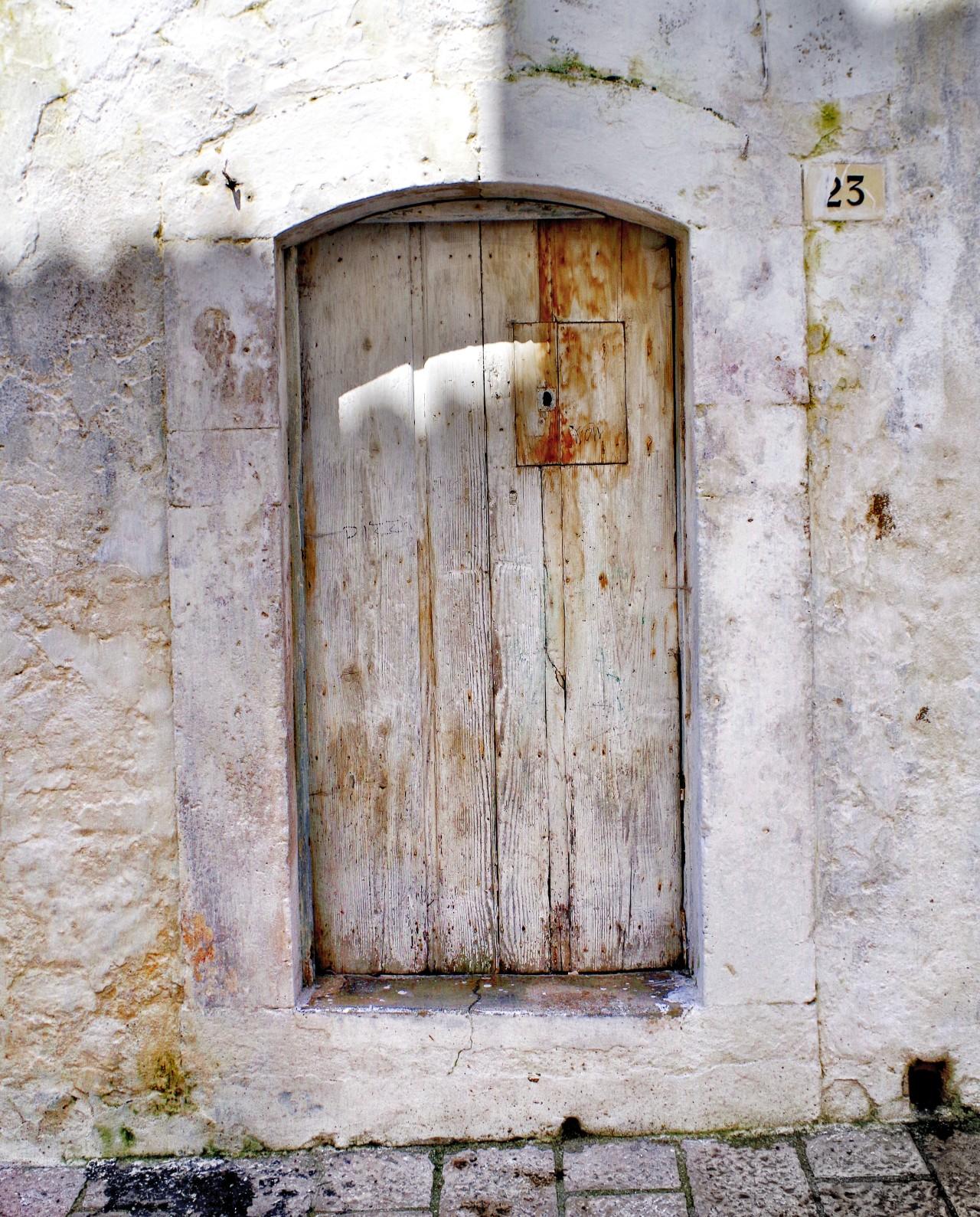 Tür in der Altstadt
