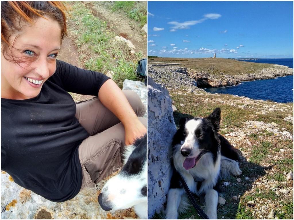 Wandern mit Hund im Süden Apuliens