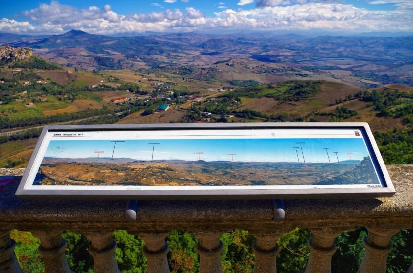 Blick von Enna (Sizilien)